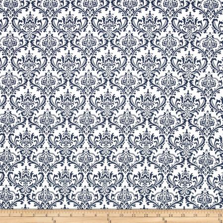 Premier Prints Madison Blue Fabric