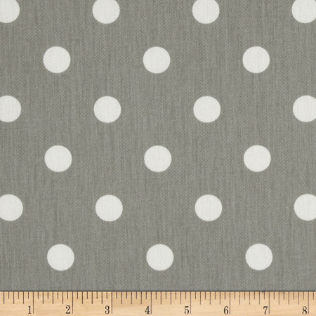 Premier Prints Polka Dots Twill Storm Fabric By The Yard