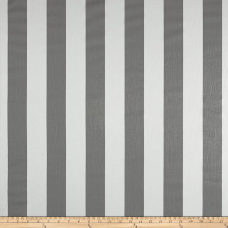 Premier Prints Premier Stripe Twill Storm Fabric By The Yard