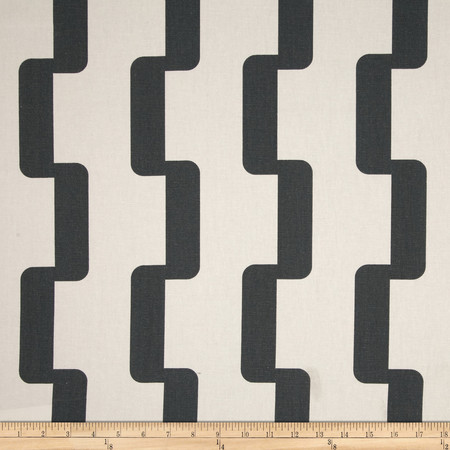 Premier Prints Rhyme Charcoal Fabric By The Yard