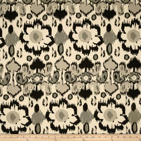Premier Prints Rio Onyx/Natural Fabric