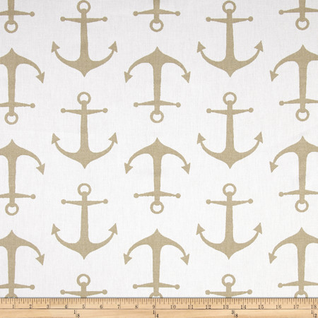 Premier Prints Sailor Athena Gold Tones Fabric By The Yard