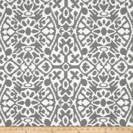 Premier Prints Seville Summerland Grey Fabric