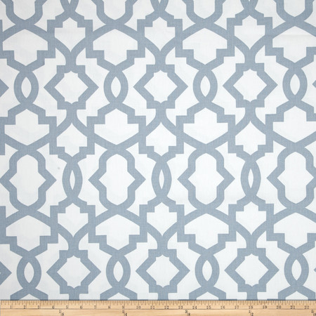 Premier Prints Sheffield Cashmere Blue Fabric By The Yard