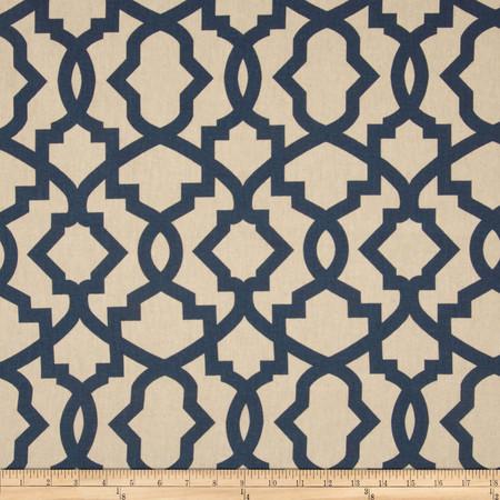 Premier Prints Sheffield Blend Laken Indigo Fabric By The Yard