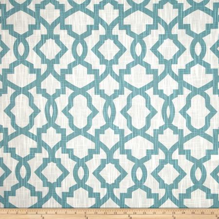 Premier Prints Sheffield Miller Slub Village Blue Fabric By The Yard