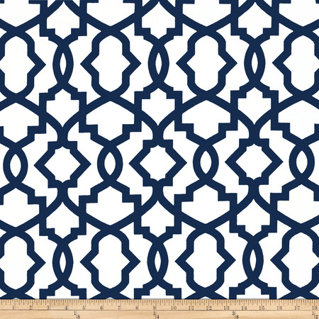 Premier Prints Sheffield Premier Navy Fabric By The Yard