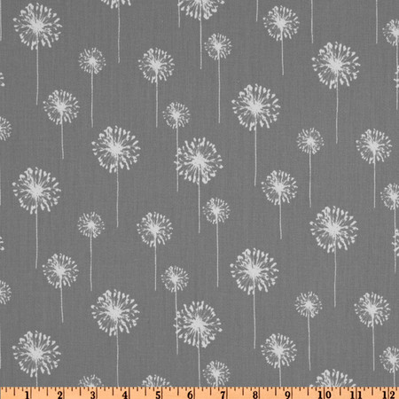 Premier Prints Small Dandelion Twill Storm Fabric By The Yard