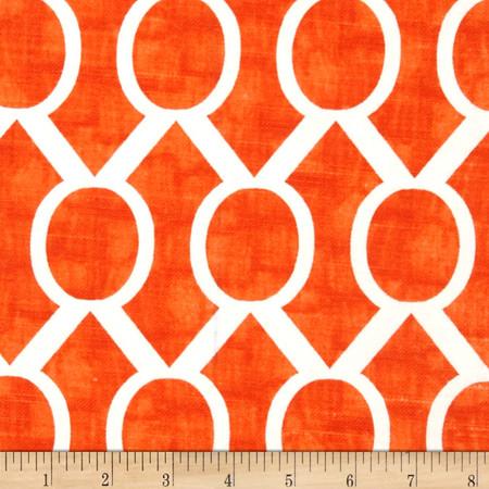 Premier Prints Sydney Slub Tangelo Fabric