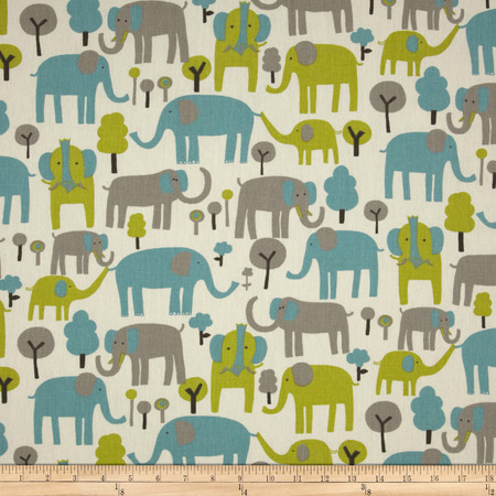 Premier Prints Trunk Tales Macon Mantis Fabric By The Yard