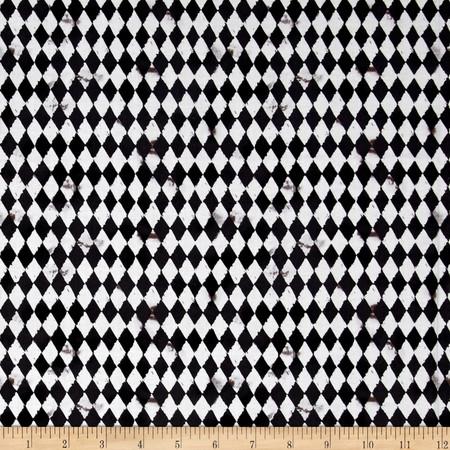 Pub Crawl Geometric Black Fabric By The Yard