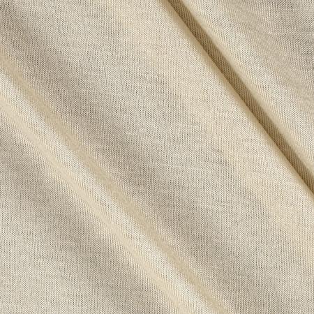 Rayon Jersey Knit Cream Fabric
