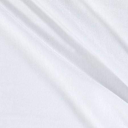 Rayon Spandex Jersey Knit White PFP Fabric By The Yard