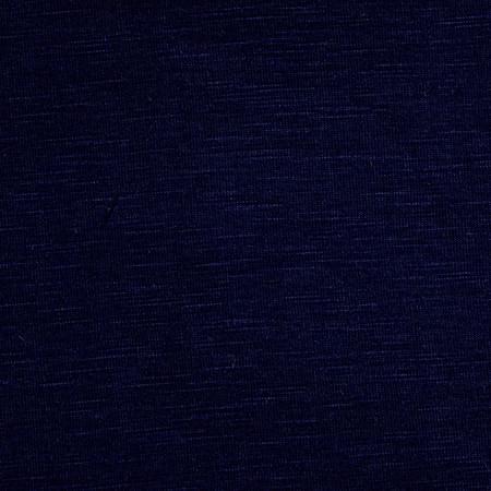 Rayon Spandex Slub Jersey Knit Dark Navy Fabric By The Yard