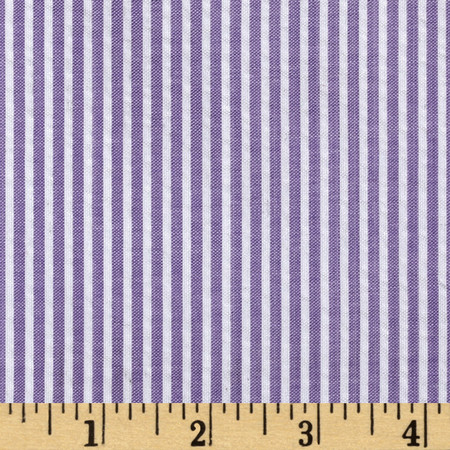 Regatta Seersucker Lilac Fabric By The Yard