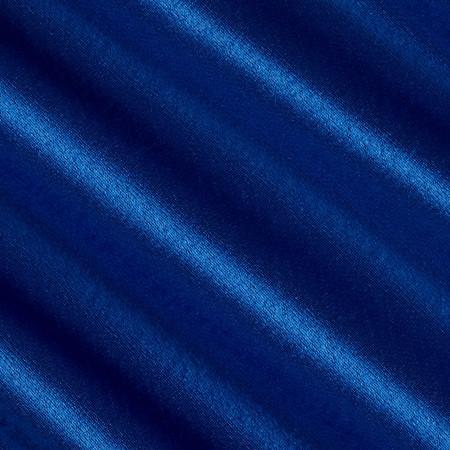 Reversible Crepe Back Satin Royal Blue Fabric