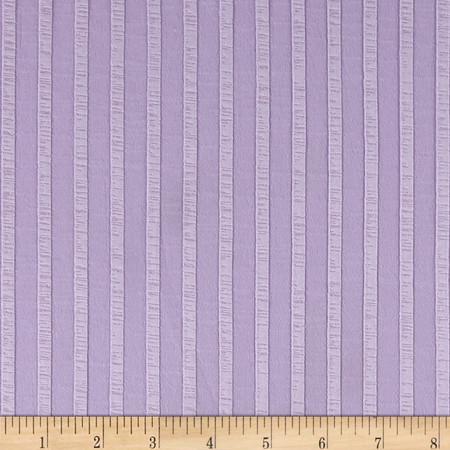 Rib Knit Stripe Lilac Fabric