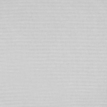 Rib Knit White Fabric