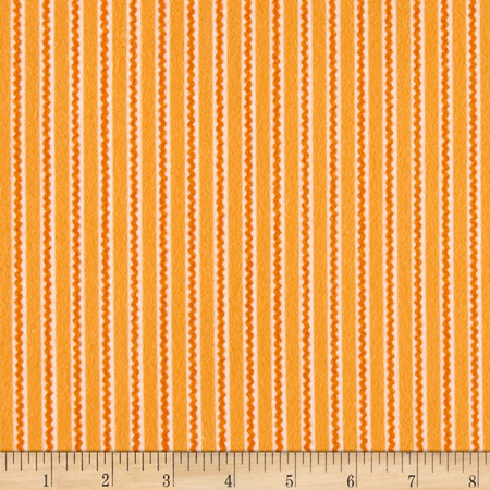 Ric Rac Paddywack Flannel Peach Mini Ric Rac Fabric By The Yard