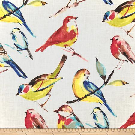 Richloom Birdwatcher Summer Fabric By The Yard