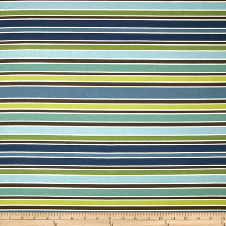 Richloom Chavez Stripe Opal Fabric