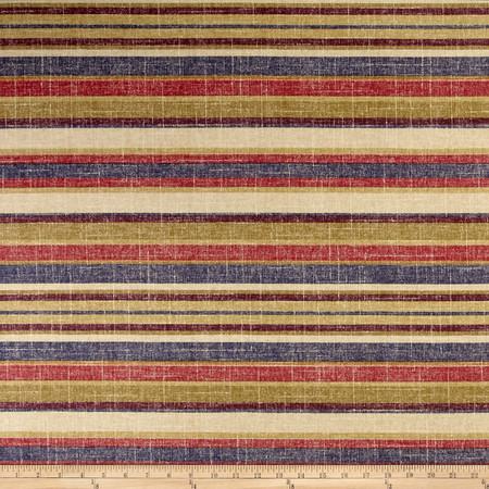 Richloom Chepston Stripe Jewel Fabric