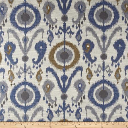 Richloom Darya Ikat Jacquard Dune Fabric