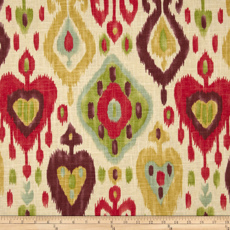 Richloom Django Ikat Jubilee Fabric By The Yard