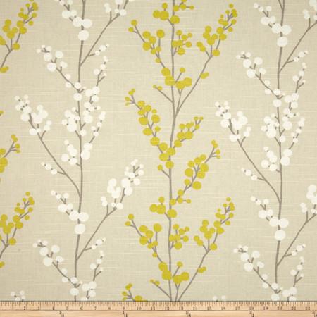 Richloom Evelynne Lemongrass Fabric By The Yard