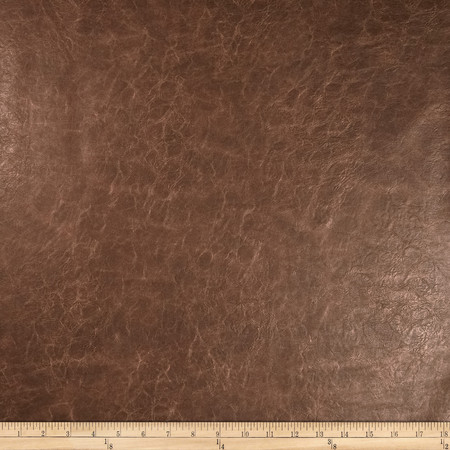 Richloom Faux Leather Distressed Schwimmer Bark Fabric By The Yard