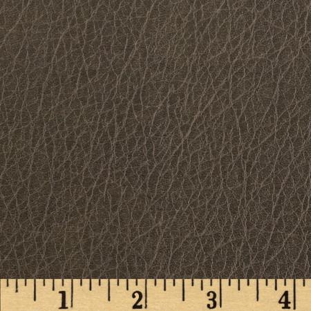 Richloom Faux Leather Distressed Tarkington Gunmetal Fabric
