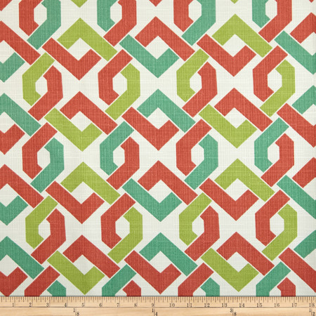 Richloom Indoor/Outdoor Rieser Mango Fabric By The Yard