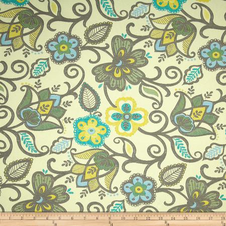 Richloom Jasmine Jacquard Celestial Fabric