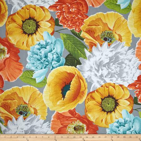 Richloom R Gallery Sidera Sateen Sunset Fabric