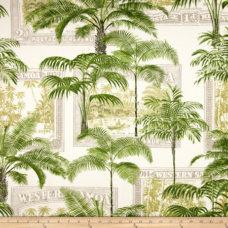Richloom Solar Outdoor Key Biscayne Palm Fabric By The Yard