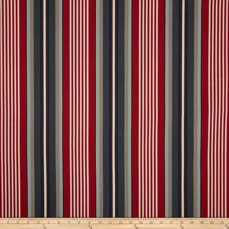 Richloom Solar Outdoor Walden Stripe Nautical Fabric