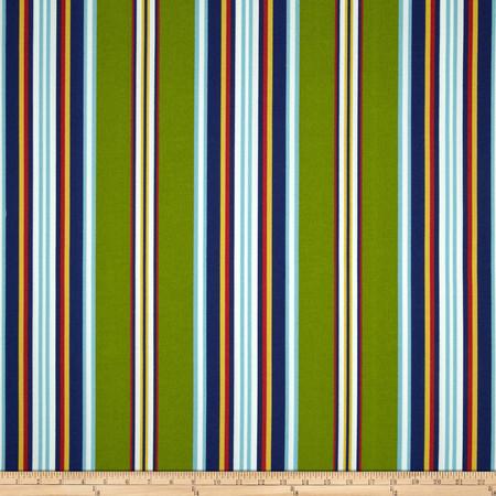 Richloom Solarium Outdoor Kasmira Stripe Garden Fabric