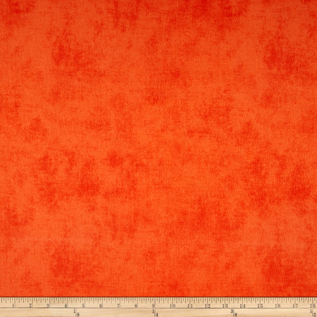Riley Blake Flannel Shades Tangerine Fabric By The Yard