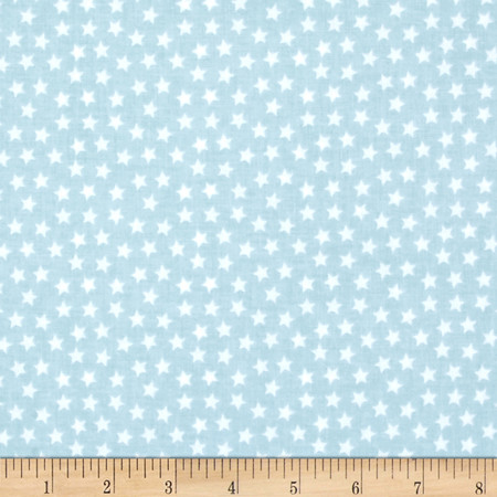 Riley Blake Lucky Star Blue Fabric