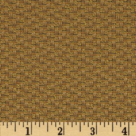 Robert Allen Promo Barrier Jacquard Gold Fabric