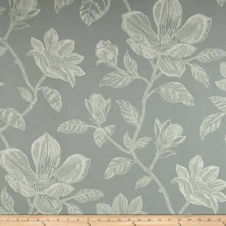 Robert Allen Promo Bouquet Bay Twill Seaspray Fabric