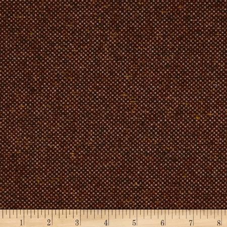 Robert Allen Promo Consort Wool Blend Rosewood Fabric