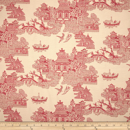 Robert Allen Promo Geisha Girl Jacquard Tulip Fabric