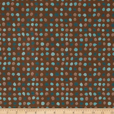 Robert Allen Promo Geotypes Jacquard Copper Fabric