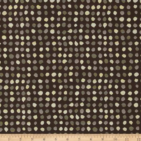 Robert Allen Promo Geotypes Jacquard Teak Fabric