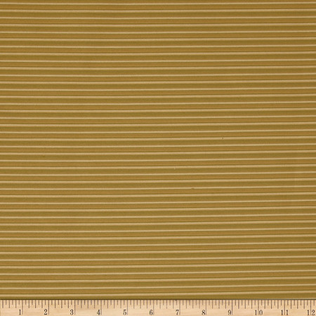 Robert Allen Promo In Transit Stripe Olive Fabric By The Yard