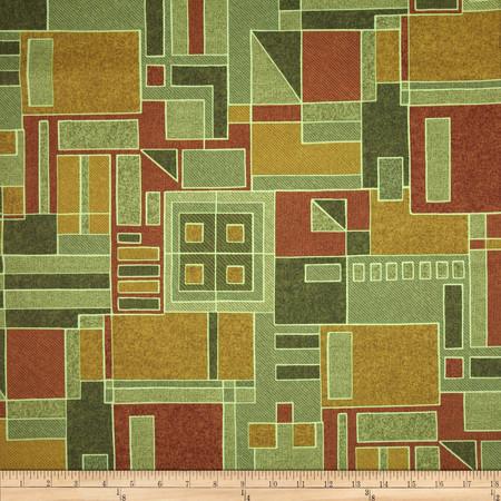 Robert Allen Promo Lake Worth Cayenne Red Fabric