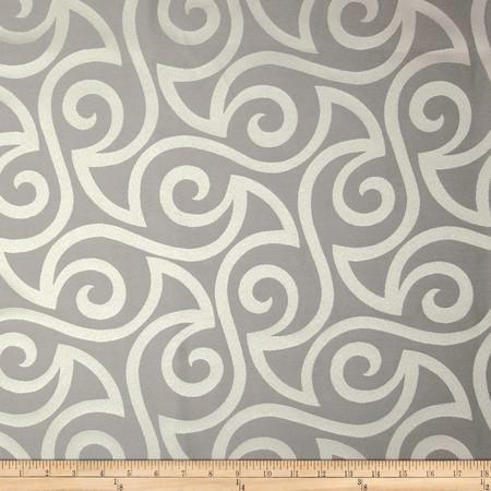 Robert Allen Promo Musical Swirls Jacquard Twine Fabric