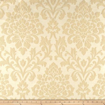 Robert Allen Promo Odemina Jacquard Custard Fabric