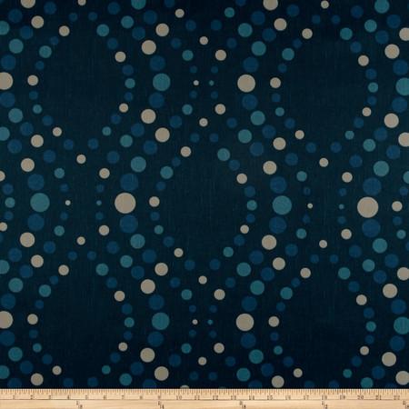 Robert Allen Promo Ogee Dot Mallard Fabric